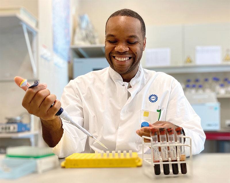 Arno Concepcion senior researchanalist laboratorium reumatologie klinische immunologie