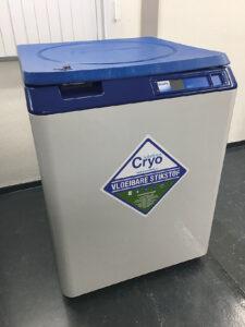 Hergebruik vloeibare stikstof apparatuur
