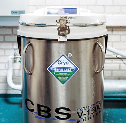 Hergebruik vloeibare stikstof apparatuur cryo