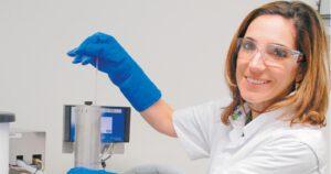 Klinisch embryoloog Margarida da Avó Ribeiro dos Santos