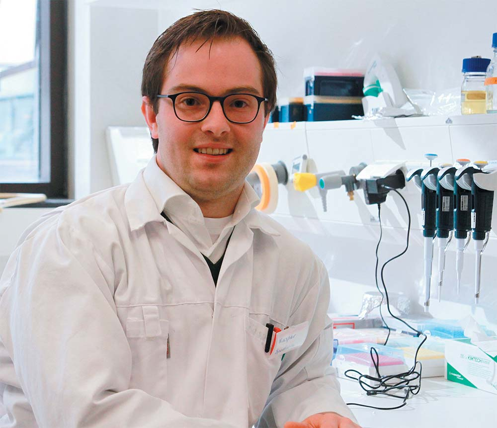 PhD-student Kasper Spoelstra