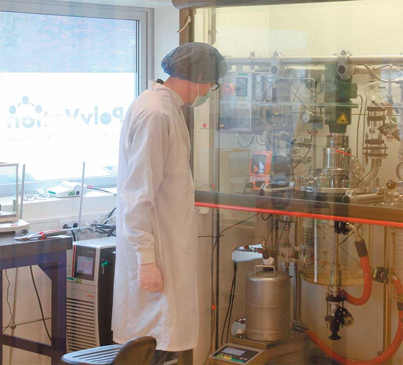 vier cleanrooms bij PolyVation